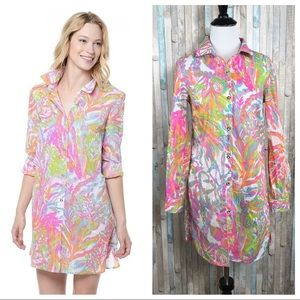 Lilly Pulitzer XS Jupiter Island Cover Up Tunic